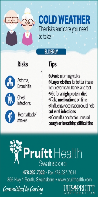 Cold Weather. The Risk And Care You Need To Take.