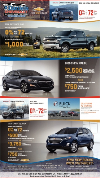 Find New Roads With Chevrolet